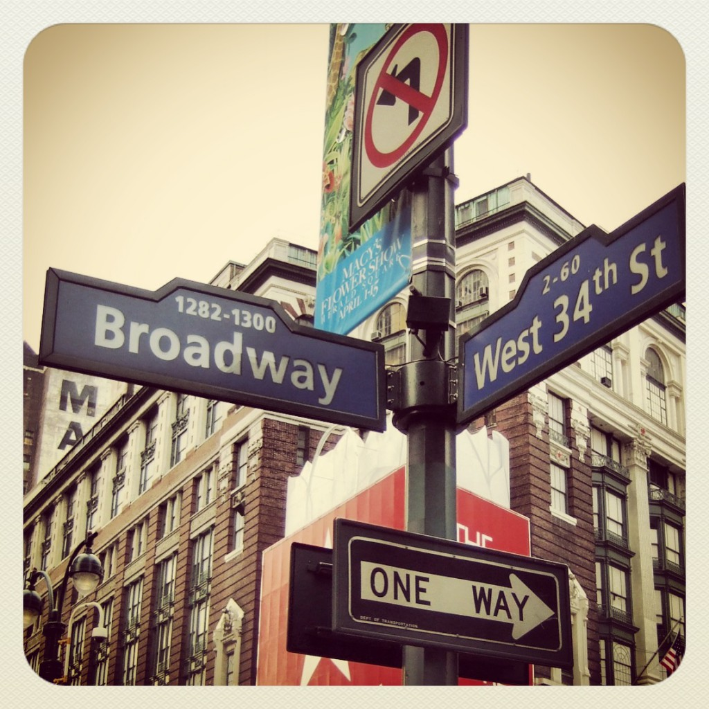There is only one way on Broadway || Tim Wullbrandt
