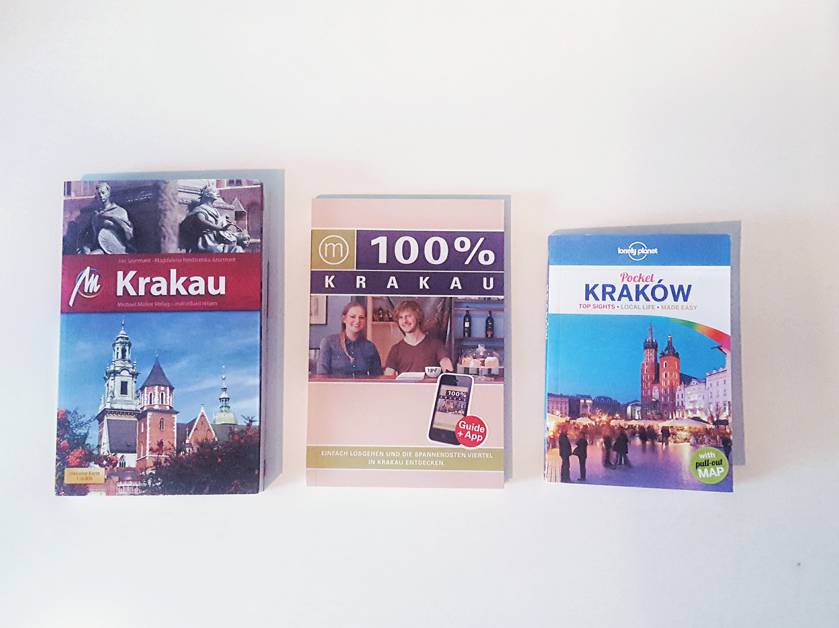 Die Reiseführer für Krakau im Test