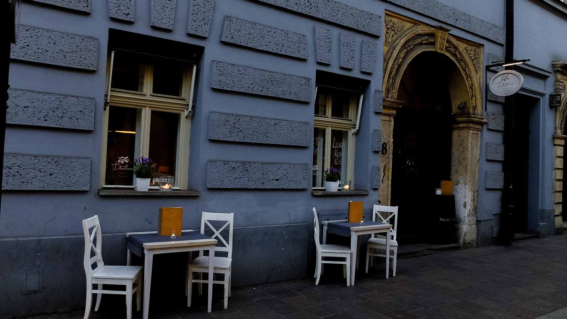 Street places in Krakow