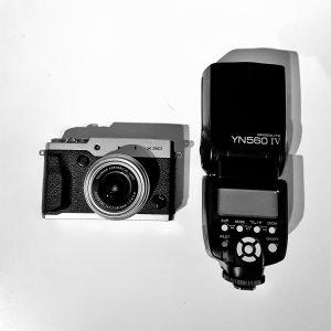 Fuji X30 mit Yongnuo YN560 IV