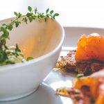 Alte Wache | Forchheim | Kartoffelpuffer mit Lachs und Dip